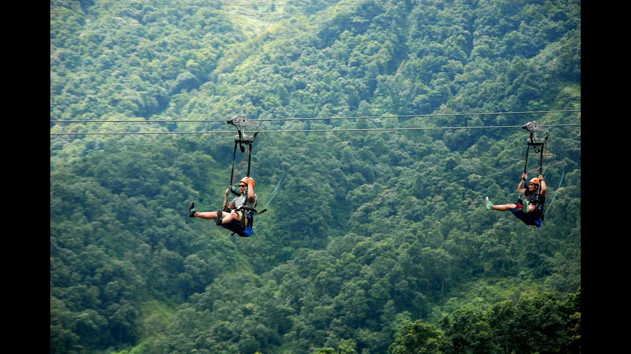 World's most extreme zipline - ZipFlyer Nepal on