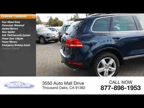 2014 Volkswagen Touareg Thousand Oaks CA 2P2120