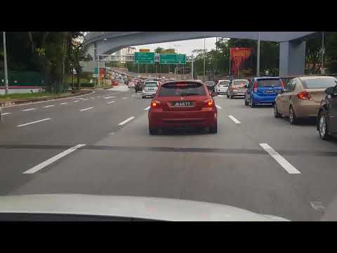 Driving In Malaysia (Time Lapse)