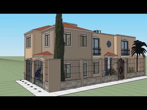 Plano 7x15 mts pb vda doovi for Casa moderna 7x15
