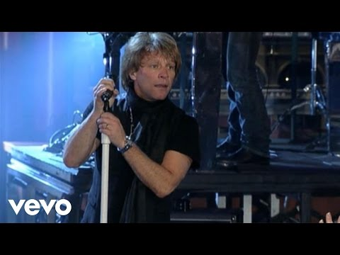 Bon Jovi - Bad Medicine/Shout (Live on Letterman)