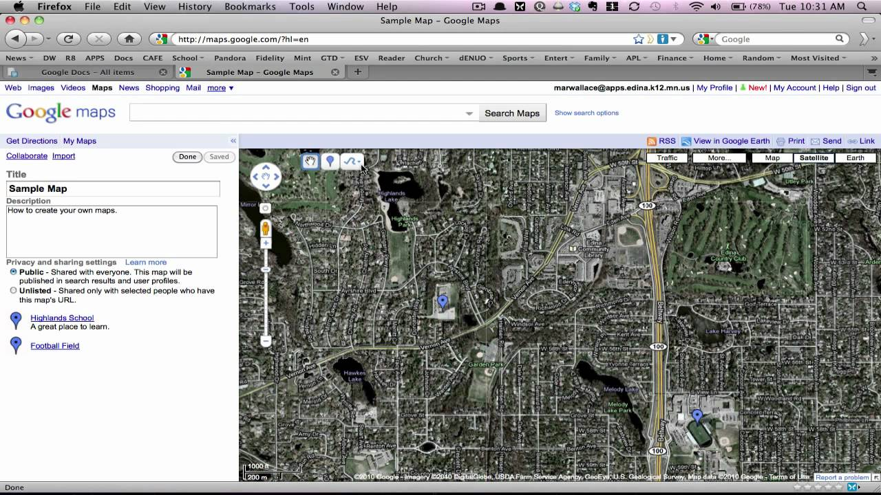 Drawing Lines On Google Maps : Drawing lines in google maps youtube