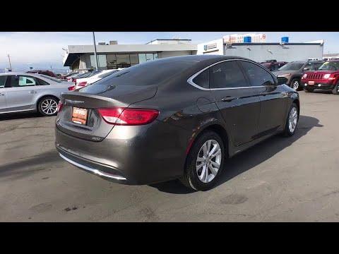 2015 CHRYSLER 200 Reno, Carson City, Northern Nevada, Sacramento, Elko, NV FN715580C