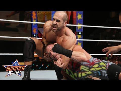 Rob Van Dam vs. Cesaro: SummerSlam 2014 Kickoff