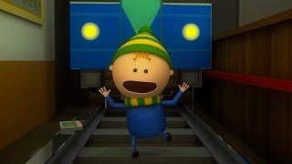 Аркадий Паровозов спешит на помощь - Почему опасно находиться на путях в метро- мультфильм детям