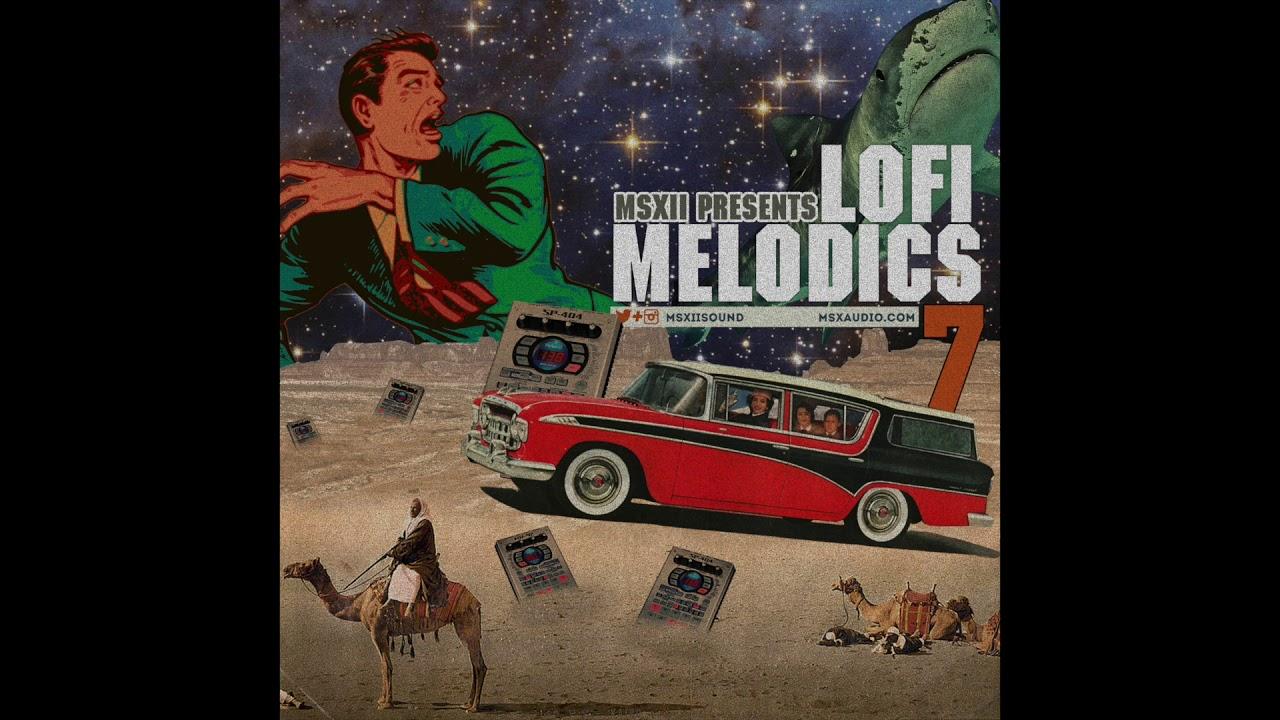 Lofi Hip Hop Samples - LoFi Melodics Vol  7 Sample Pack