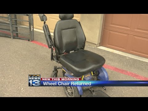 Lost wheelchair found near Albuquerque apartments