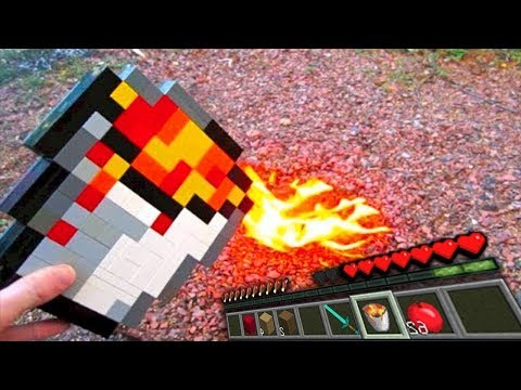 Realistic Minecraft In Real Life Irl Animation The Best Episode Top Minecraft