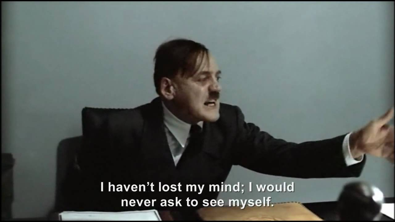 Hitler is informed that Hitler is ready to see him