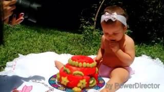 Smash the cake ( fruit )