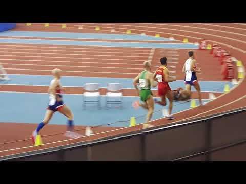 Ken, Dean 800m Semi Madrid 18