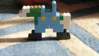 Repeat youtube video Super Lego Mario y Luigi con Hamburguesa