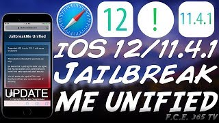 iOS 12.0.1 / iOS 11.4.1 JAILBREAK ME UNIFIED PROJECT UPDATE & BAD NEWS