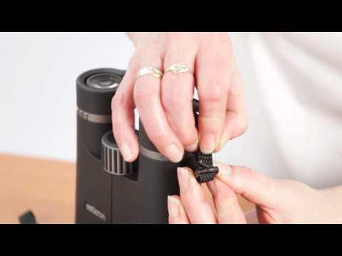 How to attach a Binocular Harness