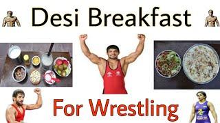 Desi Breakfast for Wrestling  -  Kushti Pehalwan Diet Secrets