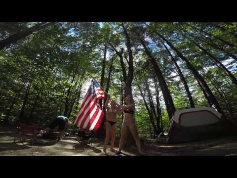 Camping at White Lake, 2017
