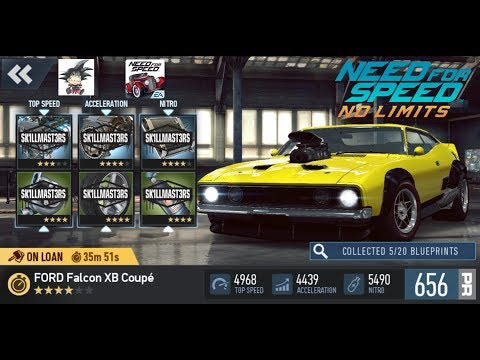Need For Speed No Limits Android Ford Falcon XB Coupe Final Event - And More