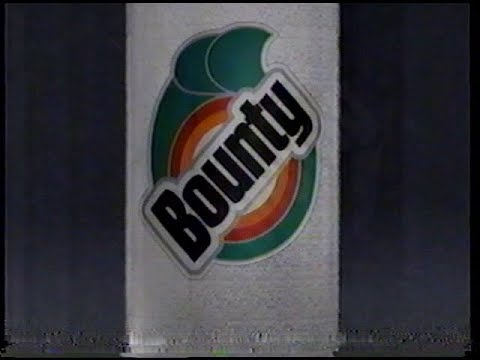 Bounty Paper Towel Commercial (1994)