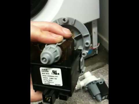 hqdefault how to replace drain pump for washer part 1 youtube Askoll Bosch Pumps at n-0.co