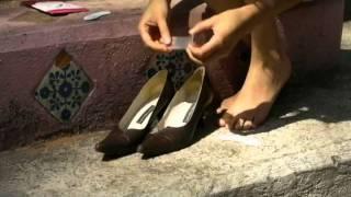 Zapato pie posterior de cojines del para la parte