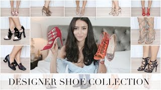 One of Tamara Kalinic's most viewed videos: MY DESIGNER SHOE COLLECTION | Chanel, Gucci, Valentino, Aquazzura