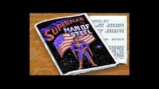 Superman - Man of Steel C64 Completed