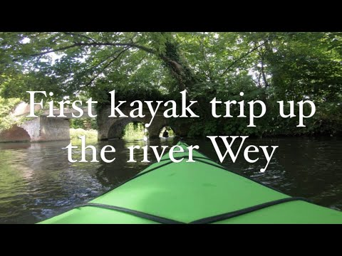 Kayak From Godalming To Guildford River Wey