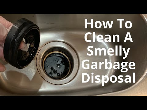 How To Clean A Smelly Garbage Disposal-2 Step Process!
