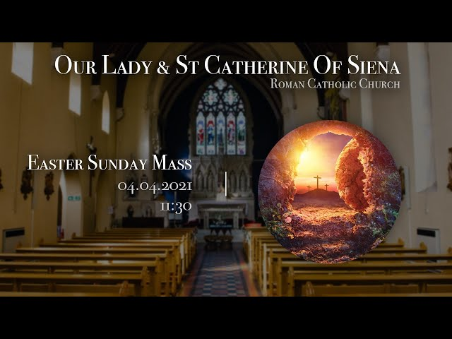 Easter Sunday Mass - F-Javier Ruiz-Ortiz - Church of Our Lady and St Catherine of Siena
