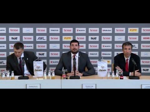 Pressekonferenz Brose Bamberg