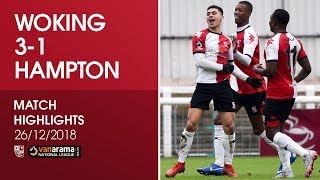 Woking 3 - 1 Hampton & Richmond Borough | Match Highlights