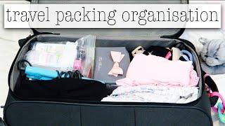 Travel Packing Organisation Tips
