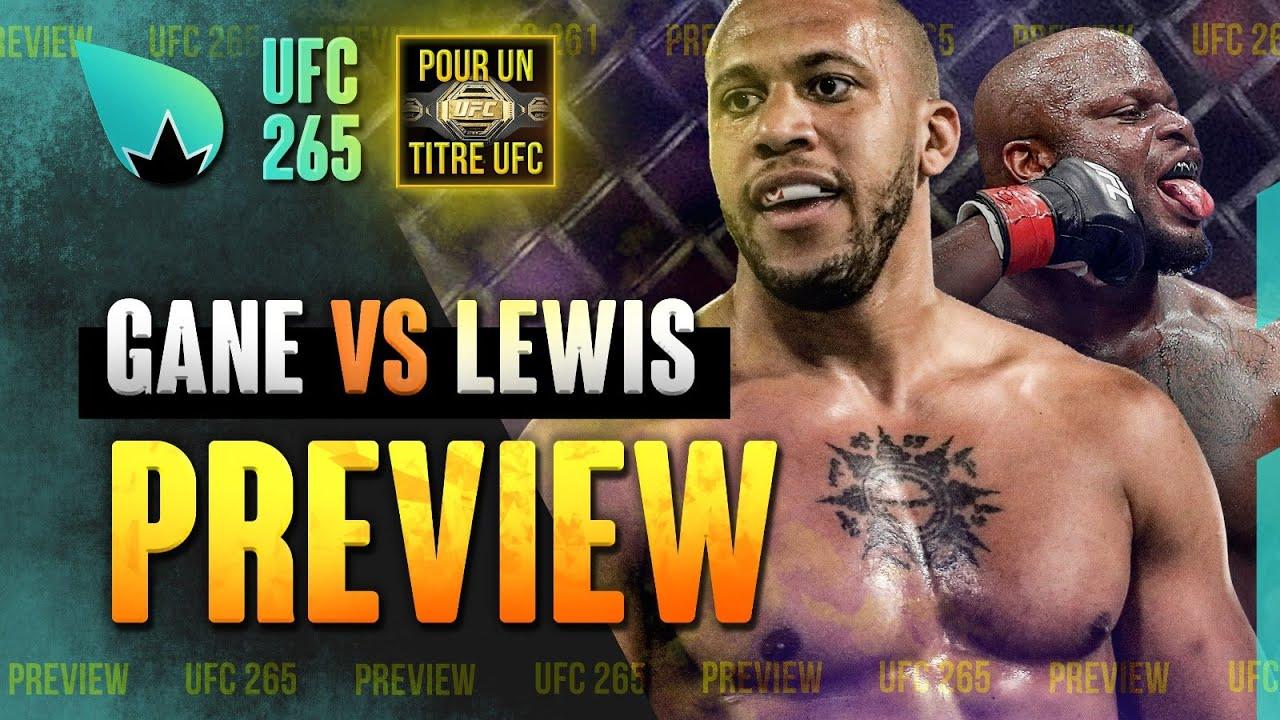 UFC 265 Derrick Lewis vs. Ciryl Gane - LA PREVIEW