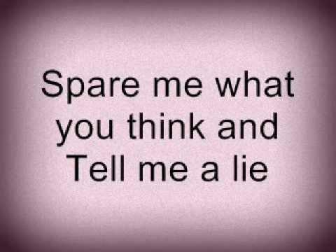 One Direction - Tell me a lie  [Lyrics]