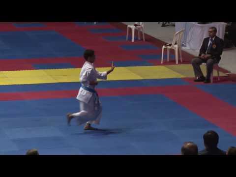 2016 Pan American Junior Championship Cadet Male Kata Final Kevin Stevens USA