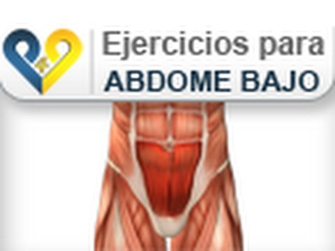 rutina para reducir abdomen bajo