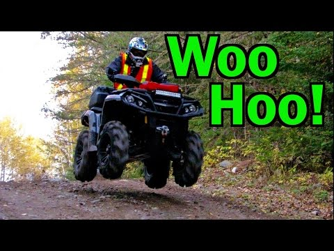 Exploring Old Gold Mines With Lappeman On The ATV's - Oct.10, 2015