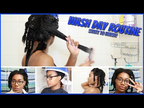 ULTRA MOISTURIZING Wash Routine for Long/Kinky (Type 4a/4b/4c) | Natural Hair