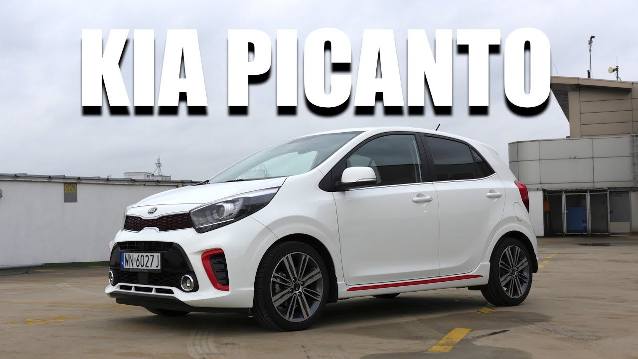 KIA Picanto GT-Line (ENG) – Test Drive and Review