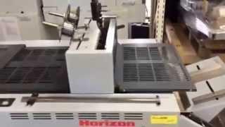 Horizon booklet maker VAC-100a/ SPF-200A/ FC-200A / ST-20R - LA-POSTPRESS #20813