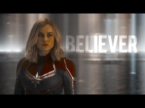 captain marvel | carol danvers | believer