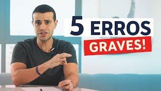 5 Maiores Erros de quem Fracassa no Ecommerce