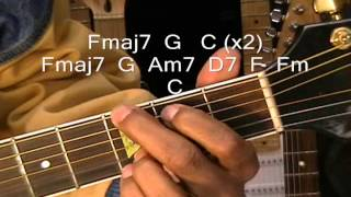 How To Play Bruno Mars When I Was Your Man Acoustic Guitar Lesson EricBlackmonMusic