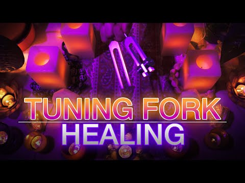 Tuning Fork Healing - 528Hz & 432Hz Tuning Forks (No Talking) Sleep | Meditation | Study | Healing