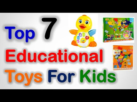 Top 7 Best Educational Toys For Kids In India With Price