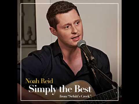 """""""Simply the Best"""" Schitt's Creek single - Noah Reid"""