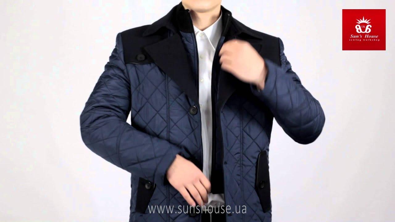 Утепленное стеганое пальто для девочки ФАБЕРЛИК - YouTube