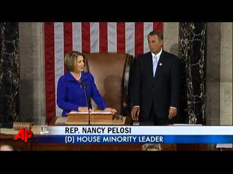 112th Congress Convenes; Boehner Elected Speaker