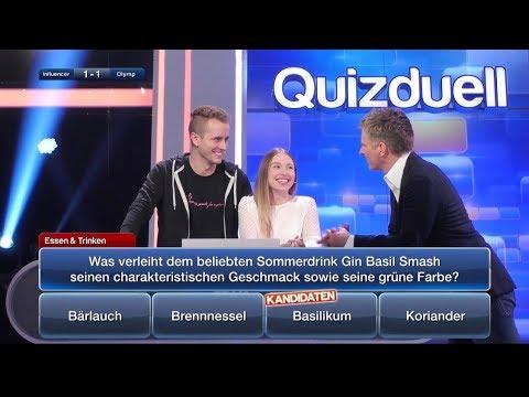 Bibi & Julian bei  'das QUIZDUELL'  im TV  ( Sendung 08.02.19 )