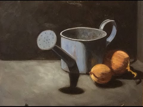 Oil painting with a limited palette